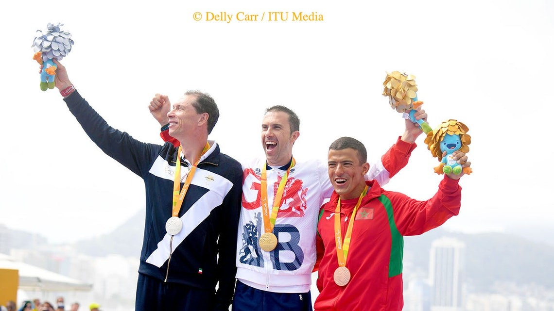 The 3 medallists